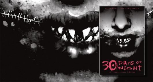 30 Days of Night 15th Anniversary Edition comic book banner
