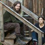 Lauren Cohan as Maggie Greene, Tom Payne as Paul 'Jesus' Rovia- The Walking Dead, Season 7, Episode 14