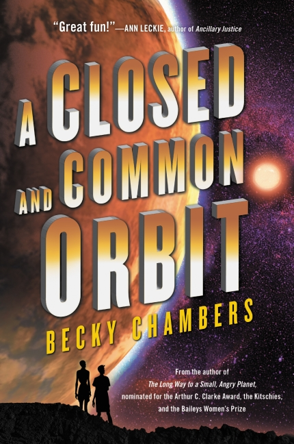 A Closed and Common Orbit book cover Becky Chambers