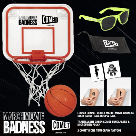 COMET TV March Madness 2017 Prize Pack
