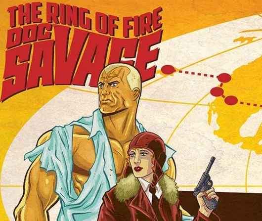 Doc Savage: The Ring Of Fire #1 header