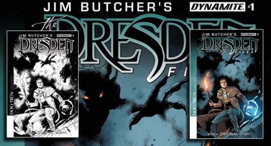 Jim Butcher The Dresden Files: Dog Men banner