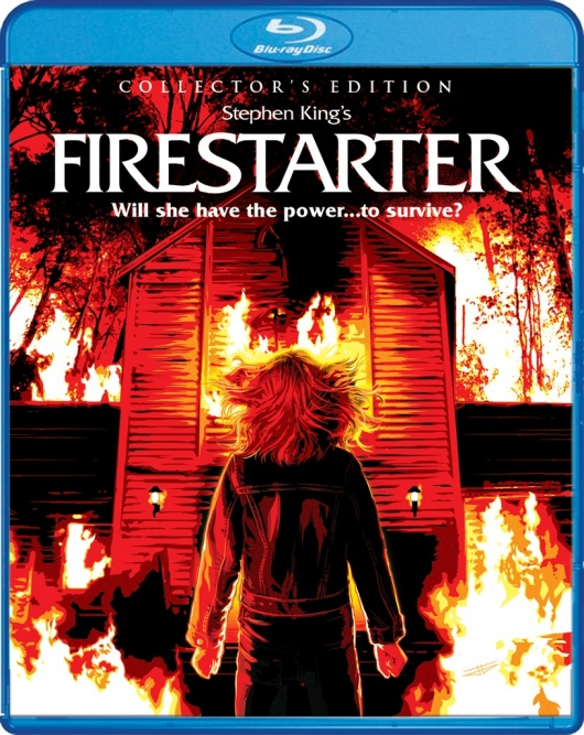 Blu-ray Review: Firestarter (Collector's Edition) Cover Art