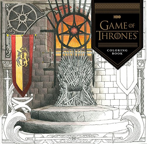 HBO's Game of Thrones Coloring Book cover