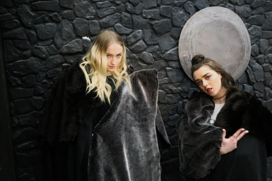 SXSW 2017 Game Of Thrones Sophie Turner and Maisie Williams