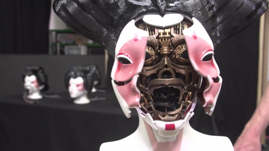 Weta Workshop's Ghost in the Shell Robot Geisha