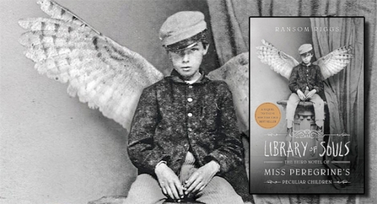 Library of Souls Miss Peregrine's Peculiar Children book banner