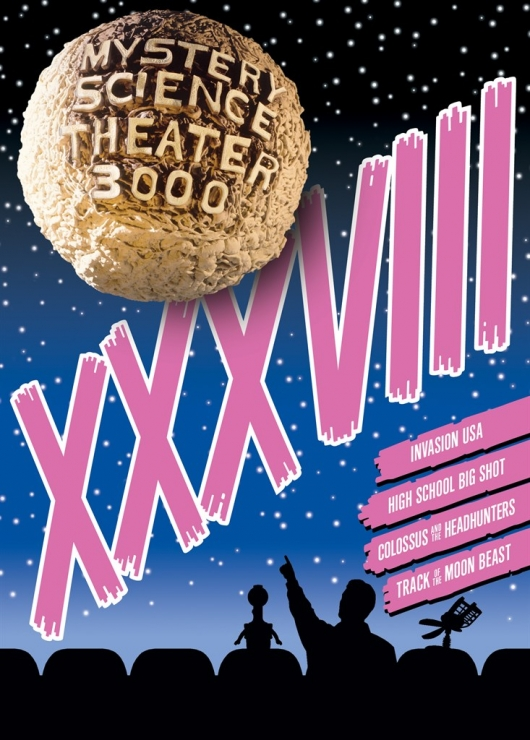 MST3K: Volume XXXVIII DVD Cover Art