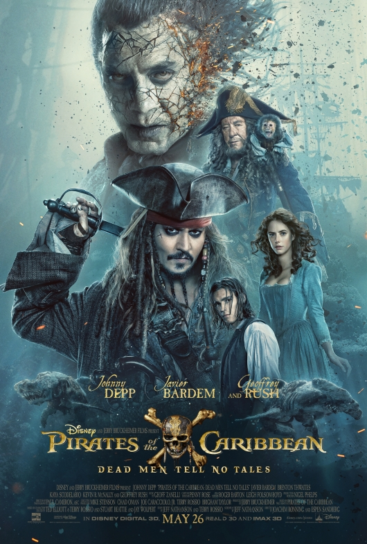 Pirates of the Caribbea Dead Men Tell No Tales Poster