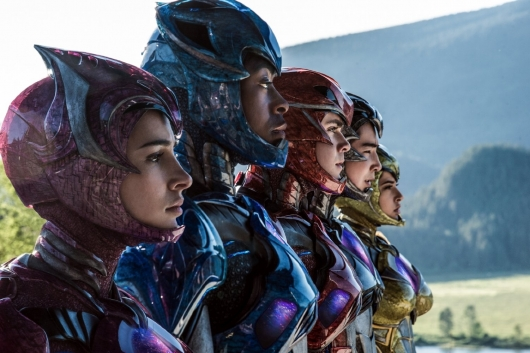 Power Rangers team header