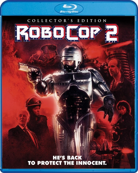 Blu-Ray Review: RoboCop 2 (Collector's Edition) Cover Art