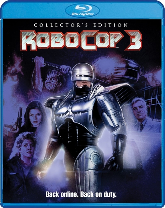 Blu-Ray Review: RoboCop 3 (Collector's Edition) Covert Art