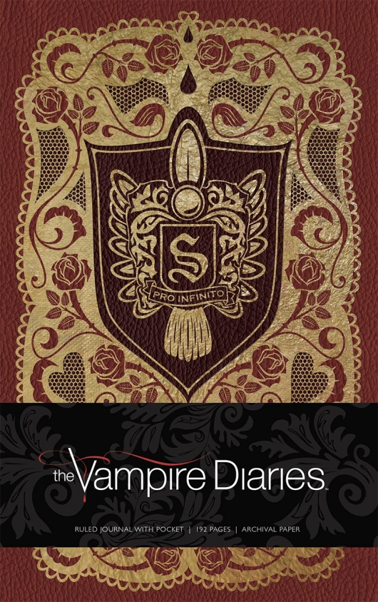 The Vampire Diaries Hardcover Ruled Journal cover