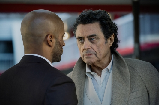 American Gods Shadow and Mr. Wednesday