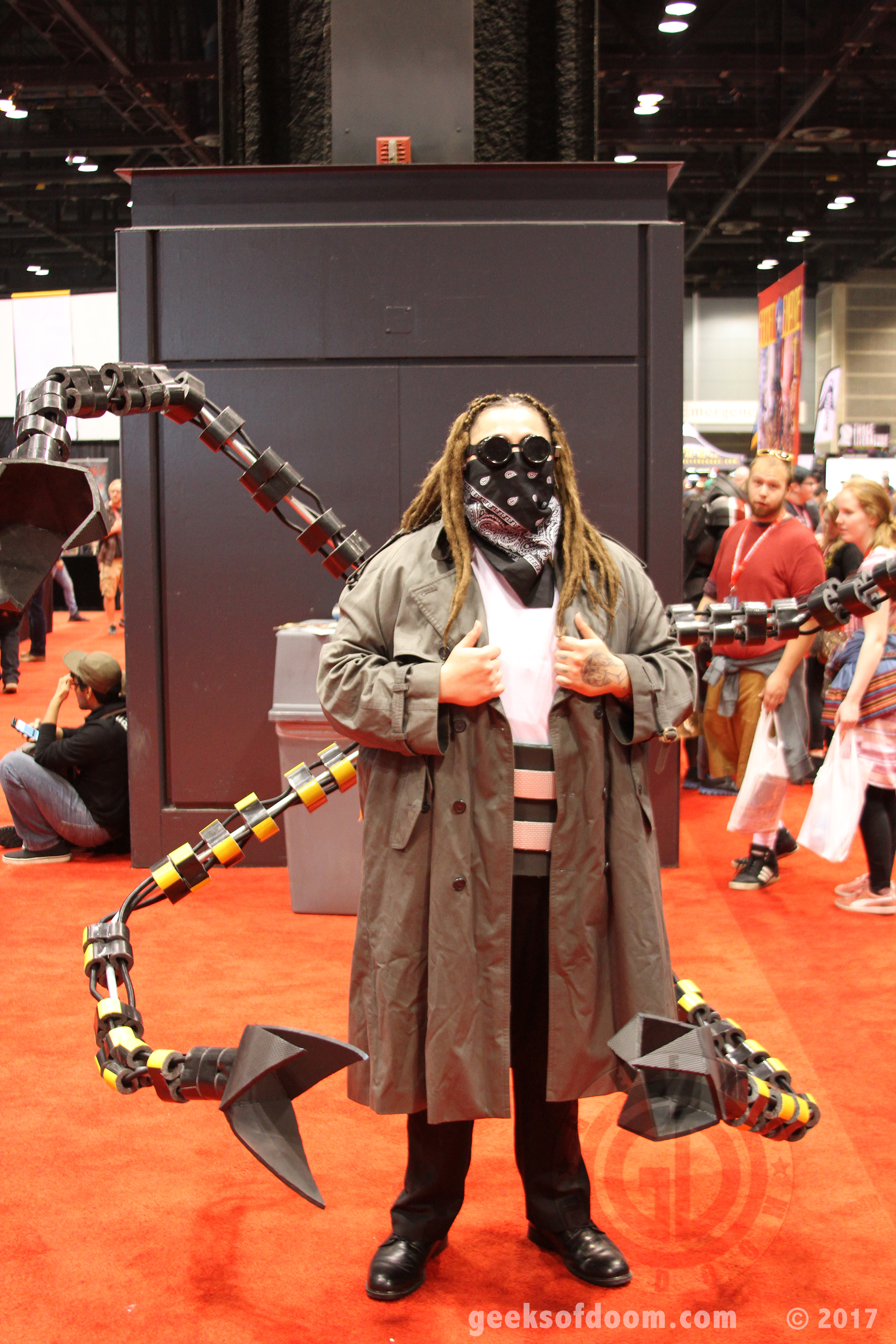 C2e2 2017 Cosplay 03 Doctor Octopus