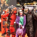 C2E2 2017 Cosplay 05 Deadpool Joker Black Panther