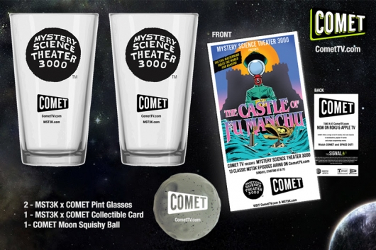 Mystery Science Theater 3000 COMET TV Contest