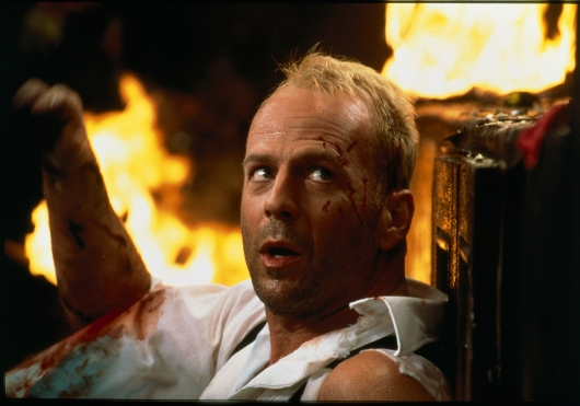 Bruce Willis as Korben Dallas, The Fifth Element (1997)