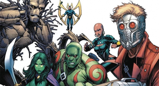 Guardians of the Galaxy: Creating Marvel's Spacefaring Super Heroes: The Complete Comics History banner