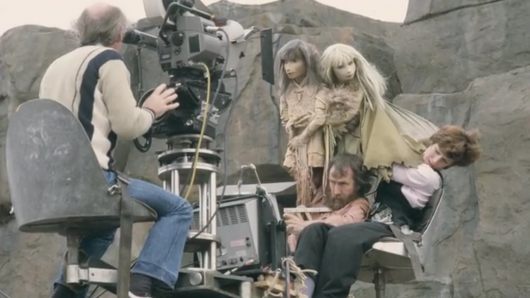 Jim Henson Filming The Dark Crystal