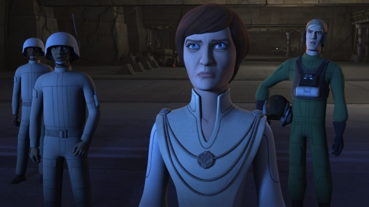 Mon Mothma from Star Wars Rebels