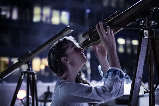 American Gods Season 1 2017 Erika Kaar looks toward the stars