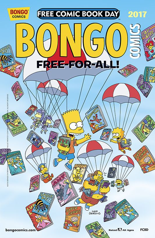 Bongo Comics: Free-For-All