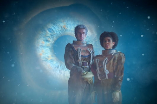 Doctor Who 10.3 Thin Ice Peter Capaldi Pearl Mackie