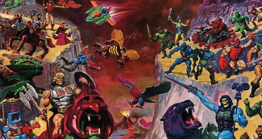 He-Man and the Masters of the Universe: A Character Guide and World Compendium header