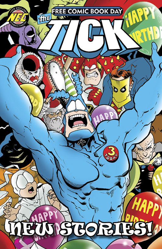 New England Comics: The Tick