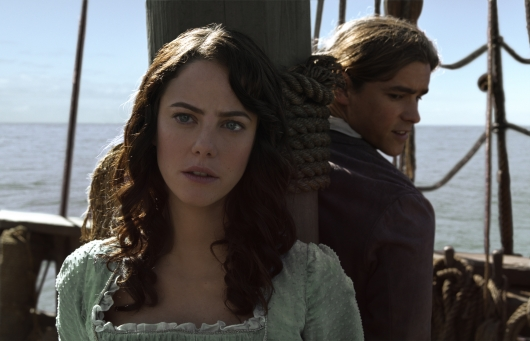Pirates of the Caribbean: Dead Men Tell No Tales starring Kaya Scodelario and Brenton Thwaites