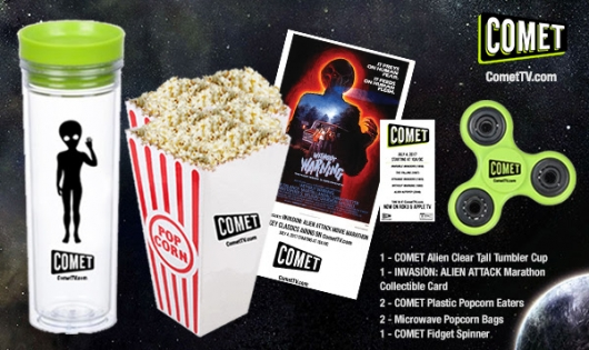 Comet TV July 4th Alien Attack Movie Marathon Prize Pack