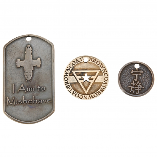 Rocklove Firefly Browncoat Medals