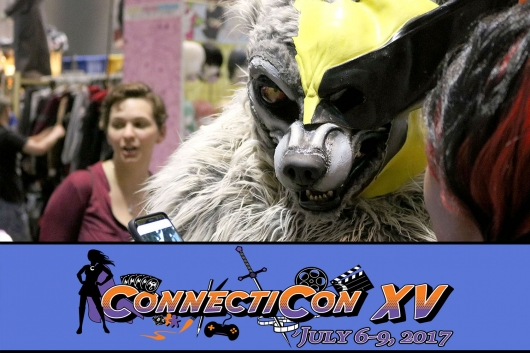 ConnectiCon Cover Photo Wolverine