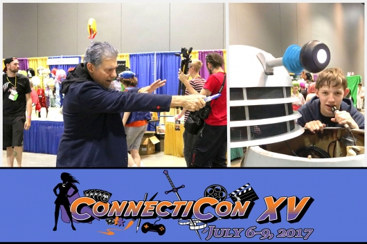 ConnectiCon Doctor Who Dalek Cover Photo