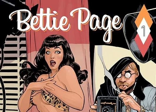 Bettie Page #1 header