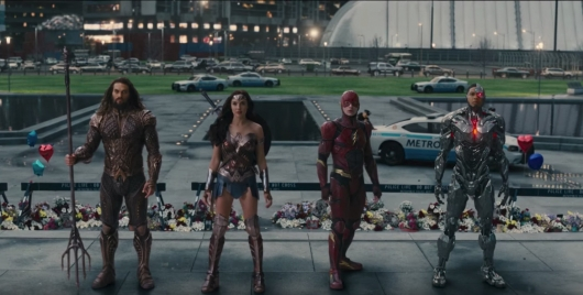 Justice League Header