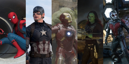 Marvel Cinematic Universe Rankings