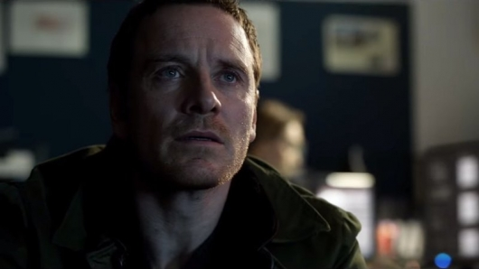 Michael Fassbender The Snowman trailer