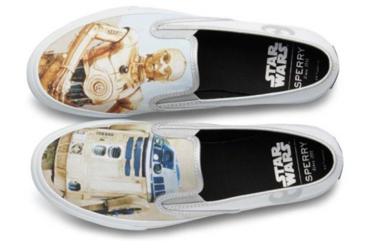 Sperry x Star Wars Collection: Cloud Slip On – Droids