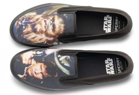 Sperry x Star Wars Collection: Cloud Slip On – Han & Chewie