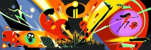 the Incredibles 2 concept art header