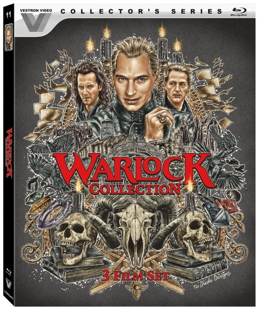 The Warlock Collection (Vestron Video Collector's Series) Blu-Ray Cover Art