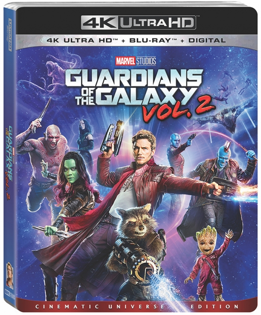 Guardians Of The Galaxy Vol. 2 4K Ultra HD