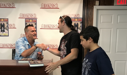 Bruce Campbell Book Signing Cover