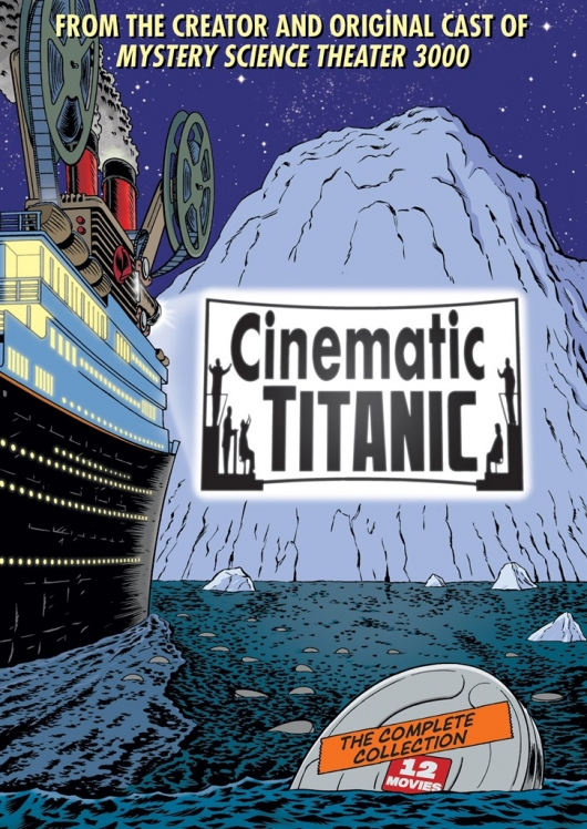 Cinematic Titanic: The Complete Collection Cover Art