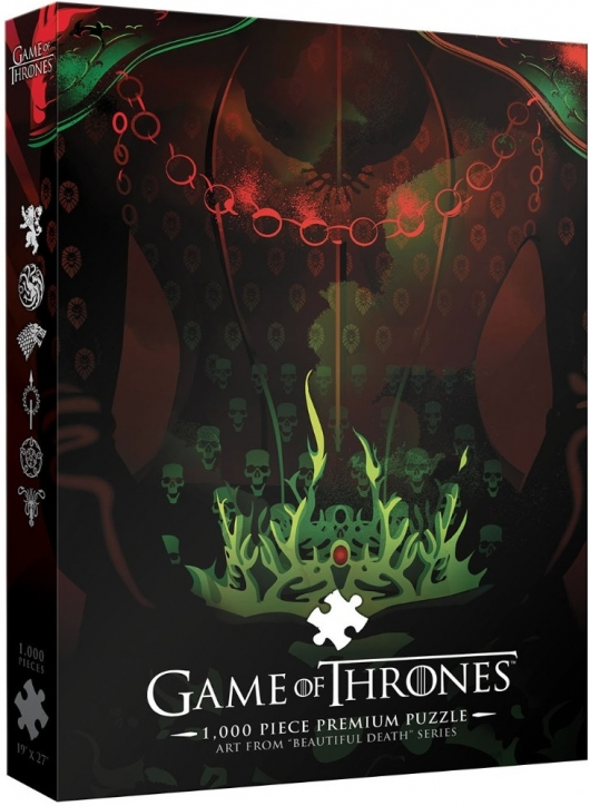 """Game of Thrones """"Beautiful Death"""" Puzzle Long May She Reign"""