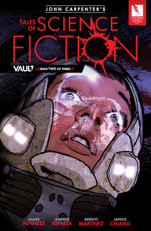 John Carpenter Tales of Science Fiction Vault 2 Cover