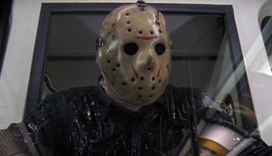 Kane Hodder as Jason Voorhees in Friday the 13th