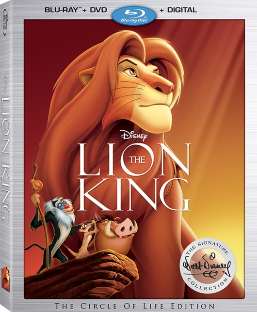 The Lion King: The Circle Of Life Edition Blu-ray cover